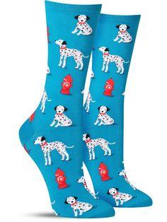 Dalmatian Socks   Womens