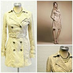 Lovely trench coat at inspired by Trench, Burberry, Inspired, Coat, Lace, Jackets, Inspiration, Fashion, Down Jackets