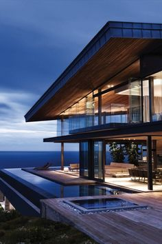 South African Beach Cliff Residence