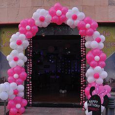 Risultati immagini per corporate balloons entrance