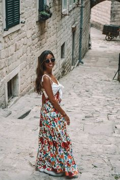 the adriatic coast: travel & style guide Croatia Pictures, Cool Outfits, Fashion Outfits, Women's Fashion, Coast Style, What To Pack, Silk Skirt, Montenegro, Slovenia