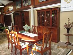 Second Hand Furniture Beautiful Dining Room With A Table Carpet And Wooden Cabinets