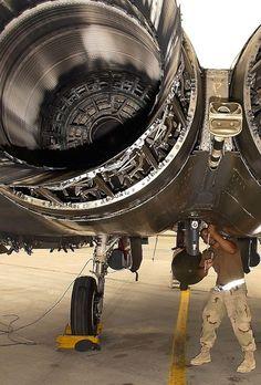 F-15, showing it's little-used tailhook.