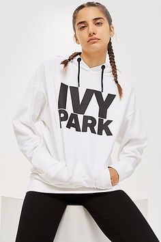 Sz S Ivy Park Zip Through Hoody oversized
