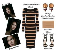 """""""The Modern Bombshell"""" by latoyacl ❤ liked on Polyvore featuring Oasis, ALDO, Jean-Paul Gaultier and modern"""