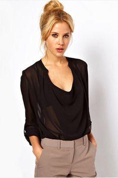 Sexy See Through Shirt