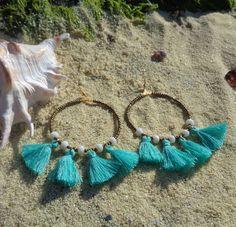 Summer is loading!  #bohemian #medusa #bohoearrings #hoops #handmade #handmadejewelry #gypsyjewelry #gypsylife #statementjewelry #boholife #bohochic #beachjewelry #greece #greekislands #gypsy #nature #crystals #beadedjewelry #freespirit #mermaid #handmadewithlove #gift #earrings #seashell #summeriscoming #summertime #tasselearrings