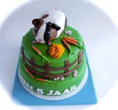 guinea pig cake.. I don't think I could ever eat this!