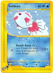 Pokemon Aquapolis - Goldeen $3.00-$4.00