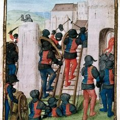 William of Tyre, Historia rerum in partibus transmarinis gestarum, in French, with continuation to 1231   Netherlands, S. (Bruges); c. 1479-c. 1480   [British Library Copyright]