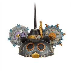 Steampunk Ear Hat Ornament - Cowboy - New ears revolution, Item No. 7509055880013P, $22.95 Limited Edition of 2400