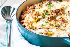 Stuffed Shells Bolognese ~ a rich meaty Bolognese sauce elevates these stuffed shells from a family dinnertime classic to a special occasion centerpiece.