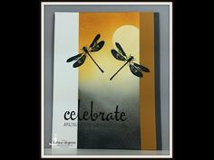 Masculine Card - Stampin' Up! Awesomely Artistic stamp set 07 13 2015 - YouTube