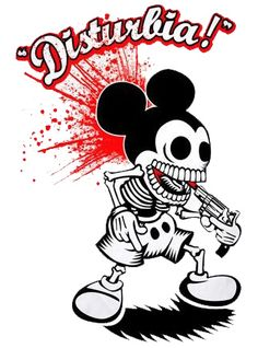 Mickey's suicide. Disturbia Clothing
