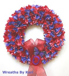 RED HAT SOCIETY Wreath