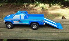 Funrise Tonka Truck Toy 3835 Vehicle W Loading Ramp Pickup Truck Lights Sound  #Funrise