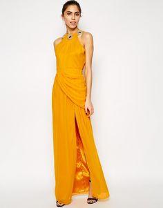 Image 1 - V Label - Titchfield - Maxi robe fendue jusqu'à la cuisse