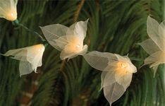 Bodhi Leaf Look-a-Lights. Light up your outdoor celebration! #BuddhistWedding #DharmaCrafts