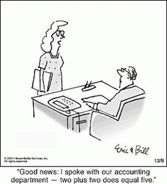 accounting humor | Literary Rejections on Display: October 2008