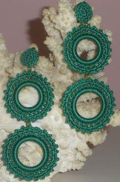 Crochet Square Patterns, Macrame Patterns, Jewelry Patterns, Crochet Designs, Crochet Earrings Pattern, Crochet Bikini Pattern, Crochet Accessories, Handmade Accessories, Handmade Jewelry