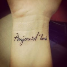 Now that is beautiful and perhaps the only tattoo I would ever consider having.  Beautiful.