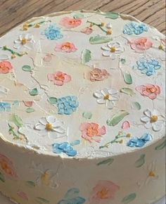 Pretty Birthday Cakes, Pretty Cakes, Beautiful Cakes, Amazing Cakes, Cute Food, Yummy Food, Pastel Cakes, Frog Cakes, Think Food