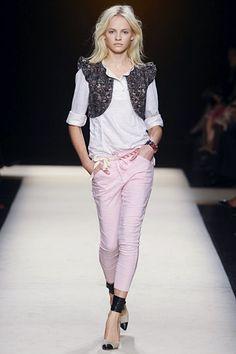 Isabel Marant Heels Model Show 2013-02