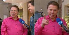 Silvio Santos fala sobre possível novo amor de Eliana
