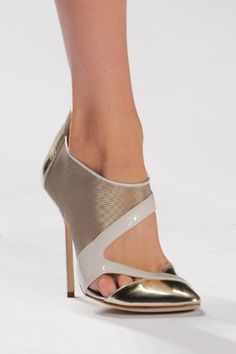 J Mendal Spring 2014 shoes on the runway
