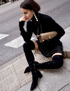 50 Street Style Looks Paris Fashion Week Chanel, Looks Street Style, Street Chic, Street Fashion, Paris Street, Autumn Winter Fashion, Winter Outfits, Womens Fashion, Fashion Trends