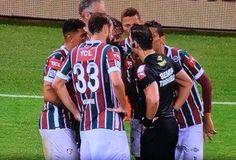 Fluminense reclamou muito da arbitragem da partida desta quarta