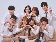 Drama Korea, Korean Drama, Teen Web, Kdrama, Teen Series, Wallpaper Wa, Drama School, Web Drama, Weightlifting Fairy Kim Bok Joo