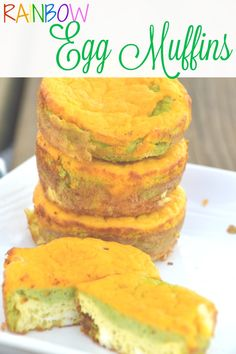egg muffins Winter is almost over! Get ready to think spring with these colorful and nutritious rainbow egg muffins. Healthy Muffins, Healthy Snacks, Healthy Recipes, Baby Food Recipes, Snack Recipes, Toddler Recipes, Toddler Food, Toddler Meals, Free Recipes
