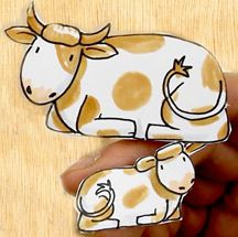 Draw-the-cows-for-a-Nativitysmal