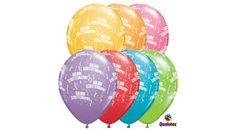 Boldog születésnapot lufi 5 db, Nicol Party Kellék Bolt Party, Receptions, Parties