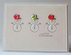 Snowwoman card