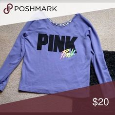 Victoria Secret Pink Slouch In perfect condition, only worn once! Size xs PINK Victoria's Secret Tops Tees - Long Sleeve