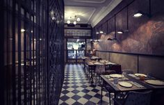 Details of the overall and category winners, and images of the winning projects, from the sixth year of the Restaurant and Bar Design Awards in Bar Design Awards, Cafe Interior Design, Cafe Design, Restaurant Design, Restaurant Bar, Gran Hotel Budapest, Art Deco, Hotel Architecture, Bar Lounge