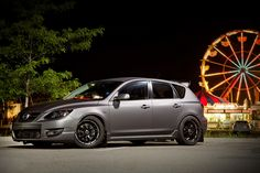 #Mazda #Speed3 with #Laminx Tint on the Headlights http://www.lamin-x.com/Mazda-3-Wagon-2007-to-2009-s/960.htm