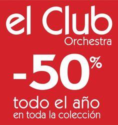 ORCHESTRA  ¡¡¡Tarjeta Club Orchestra!!! ¡¡¡-50% todo el año en toda la colección!!!   Moda infantil, más actual y a unos precios increíbles   Infórmate en tu tienda más cercana...