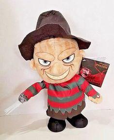 Animated Freddy Krueger Nightmare on Elm St Plush Figure Halloween Exclusive Halloween Costume Accessories, Halloween Costumes, Halloween Party Supplies, Freddy Krueger, Plush, Teddy Bear, Animation, Animals, Ebay