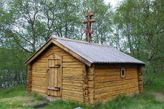 St. Georgs chapel, built in 1565, Norway