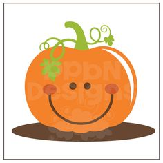 SVG files Smiling Pumpking halloween