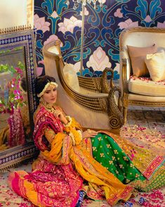 New Awesome Bridal Photshoot of Ayeza Khan Pakistani Mehndi Dress, Pakistani Dresses Casual, Pakistani Bridal Dresses, Nikkah Dress, Mehendi, Bridal Dress Design, Bridal Mehndi Designs, Ayeza Khan Wedding, Wedding Mehndi