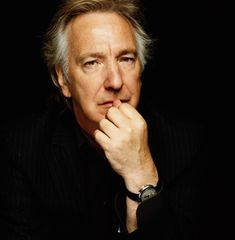 Alan Rickman (Professor Snape) Or as I remember him the bad guy on the Die Hard movies :)