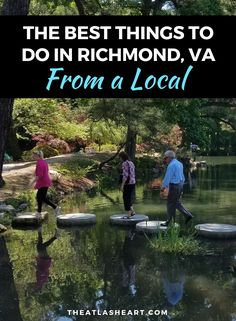 The best things to do in Richmond, VA from a local! Find out the best attractions and areas of the city to explore for your upcoming trip all in one post. Virginia Attractions, Roadside Attractions, Virginia Vacation, Things To Do, Stuff To Do, Virginia Is For Lovers, Travel Humor, Richmond Virginia, United States Travel