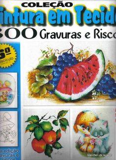 Gravuras e Riscos Vol 6 - Rosane Al - Álbuns da web do Picasa Watermelon, Fruit, Painting, Albums, Etchings, Templates, Picasa, The Creation, Tutorials