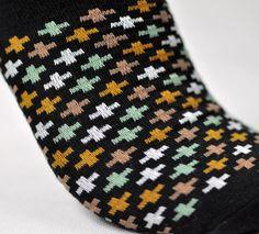 My hubby loves stylish, yet crazy socks. ^_~
