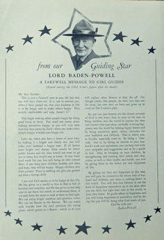 lord robert baden powell of gilwelll park essay Byu curators help digitize scout archives of robert baden-powell—a war hero, adventurer, actor and sometimes a spy and founder of scouting.