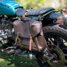 Blitz Motorcycles | Blitz x Bleu de Chauffe Bag